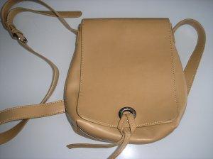Kleine sandfarbene  Handtasche Marc O'Polo in Lederoptik