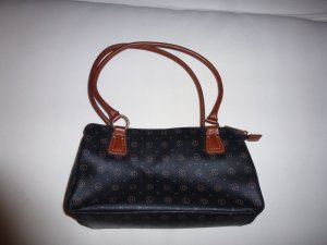 David Jones Carry Bag black-cognac-coloured