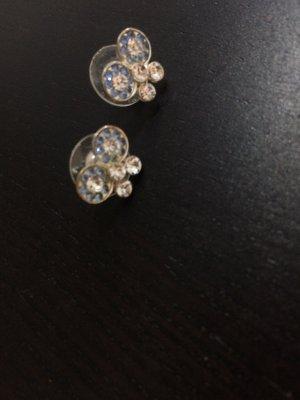 Kleine Schleifen-Ohrringe