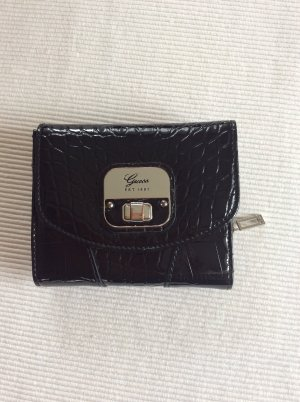 Kleine schwarze Guess Geldbörse