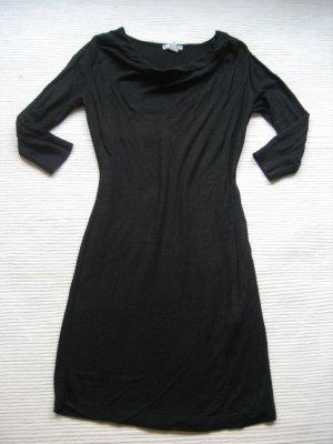 kleine schwarze H&m kleid strickleid gr. s 36