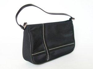 H&M Mini Bag black-white polyester