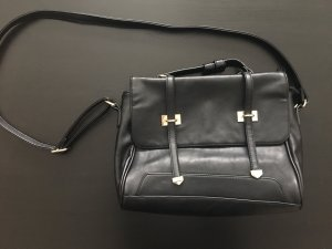 kleine schwarze handtasche von even&odd