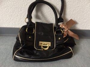 kleine schwarze Tasche / Handtasche von Atmosphere