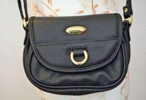 kleine, schwarze Umhängetasche, True Vintage