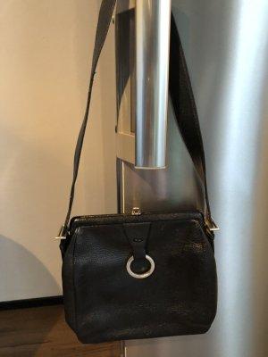 Kleine Schwarze Vintagetasche