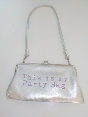 Kleine silber Partytasche