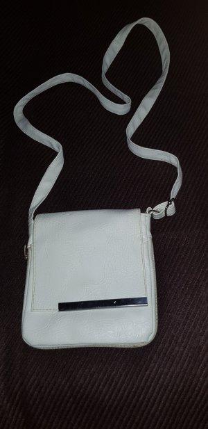 Crossbody bag white-natural white