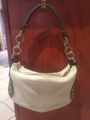 Kleine Tasche Leinen Leder Metall von Furla