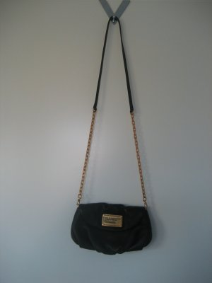 Marc by Marc Jacobs Pochette black-gold-colored leather