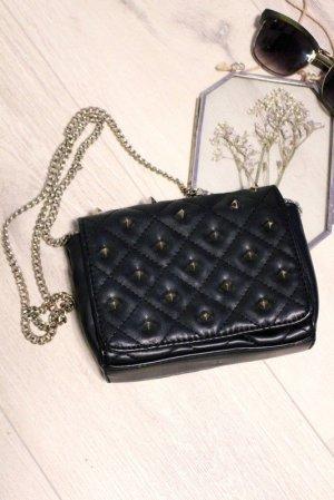 Zara Borsa a spalla nero-argento