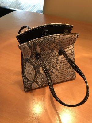 Kleine Tasche neu Leder/Reptilprägung