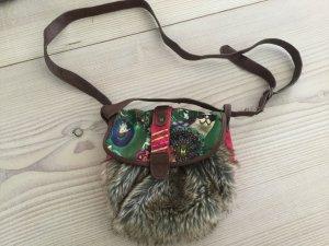 Kleine Tasche von Desigual mit Kunst Fell Umhängetasche