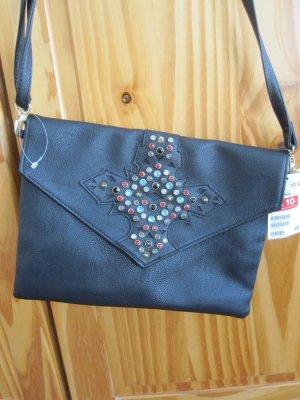 kleine Tasche von H&M mit Glitzersteinen ungetragen mit Etikett