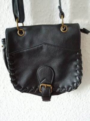 Mini Bag black-gold-colored