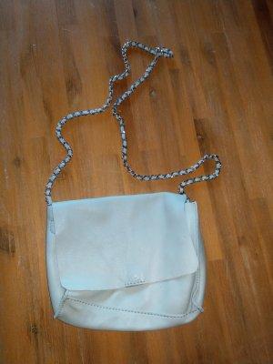 Zara Crossbody bag sage green leather