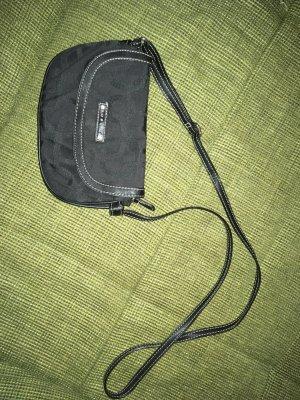 Gekruiste tas zwart Polyester