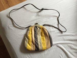 Kleine Umhängetasche braun/gelb von Orsay