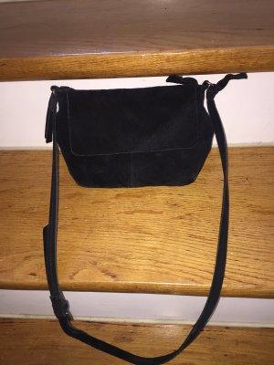 Kleine Umhängetasche (crossbody)Wildledertasche (echtes Leder)