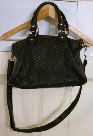 Takko Crossbody bag black polyurethane