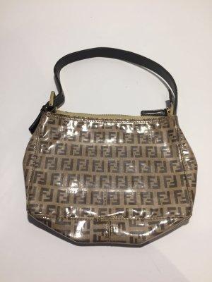 Kleine Vintage-Handtasche mit Monogramm von Fendi
