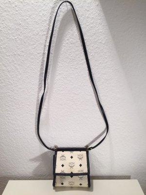 MCM Handbag dark blue-white