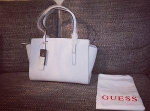 Kleine weiße Handtasche von Guess