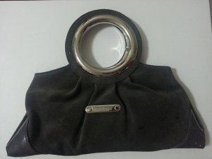 Baldinini Bolso gris oscuro-marrón grisáceo