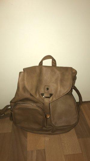 Primark Backpack bronze-colored