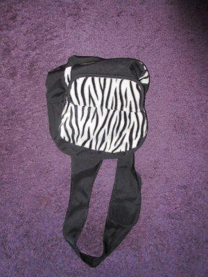 Kleiner Rucksack mit Zebramuster