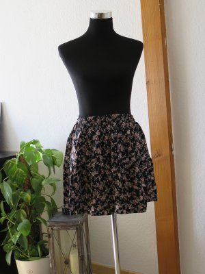 Clockhouse Miniskirt black-dark red