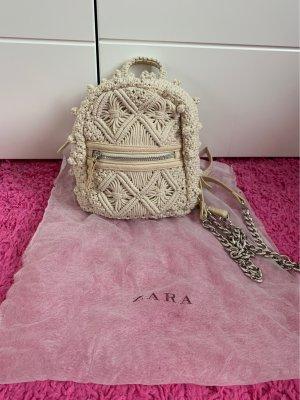 Zara Zaino trolley crema
