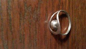 kleiner süßer Silberring
