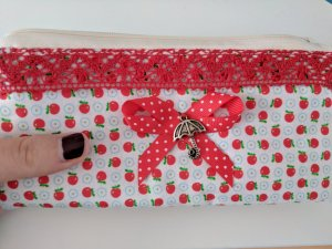 Mini Bag white-red