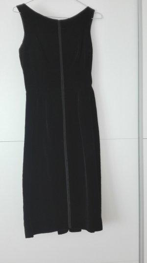 Kleines Schwarzes, Ballkleid aus Samt, original aus den 50ern ca. Größe 36