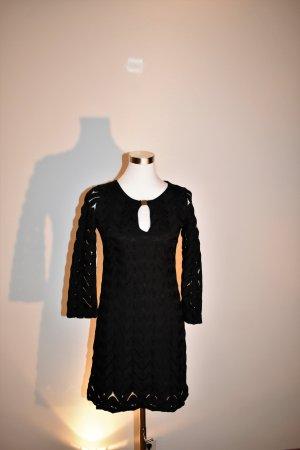 Ana Alcazar Vestido línea A negro Poliéster