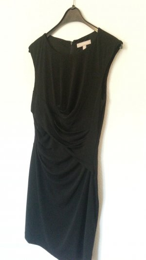 Banana Republic Cocktail Dress black mixture fibre