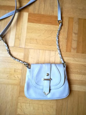 Primark Mini Bag gold-colored-light grey