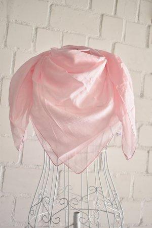Neckerchief light pink mixture fibre