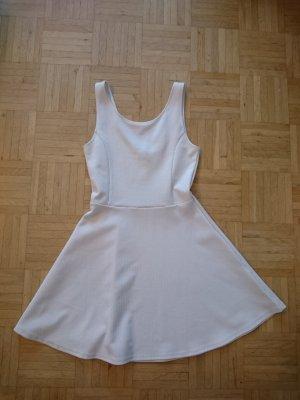 Kleines Weißes A-Linien Kleid