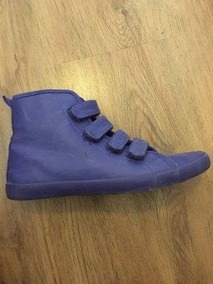 Klettverschluss Sneaker Kobaltblau