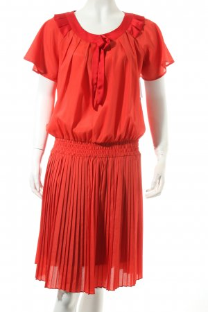 Kling Kleid rot Casual-Look