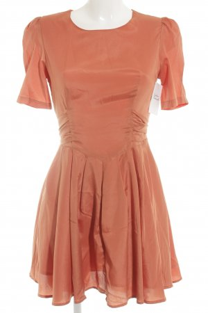 Kling Minikleid dunkelorange Retro-Look