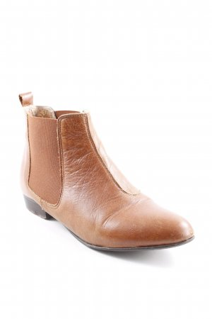KMB Booties cognac Casual-Look