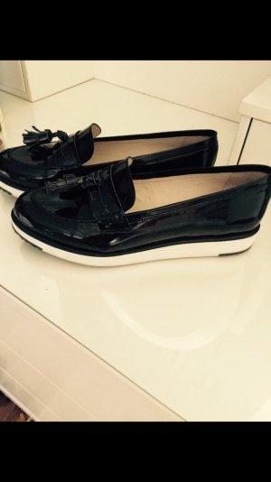 KMB Lack Schuhe schwarz Gr.38