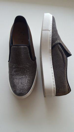 KMB Slippers silver-colored-gold-colored