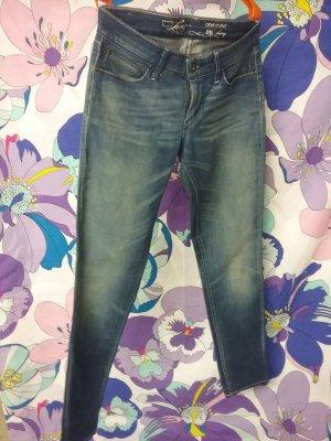 Levi's Skinny jeans blauw-donkerblauw Katoen