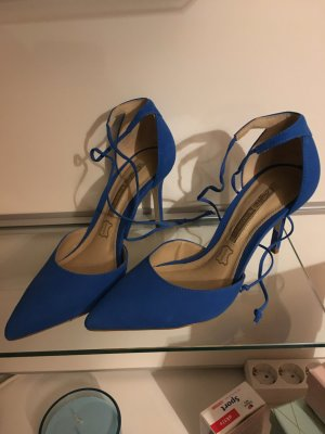 Knall Blaue Buffalo Pumps Gr. 38