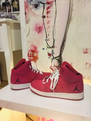 Nike Sneaker alta rosa-fucsia neon