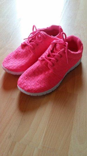 Knall PINKE Schuhe!!